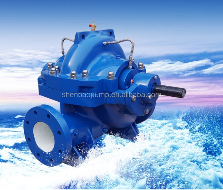Professional Industrial High Flow Rate Centrifugal Diesel Engine Water Pump