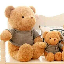 Wholesale custom plush toy bear stuffed bear toy bear doll with sweater