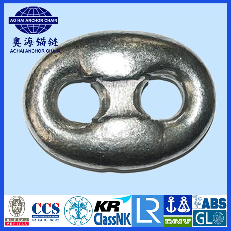 China <strong>Manufacturer</strong> Supply Marine Anchor Chain Grade 3 Kenter Shackle