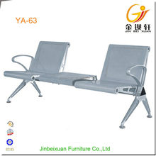 Waiting Area Used Hospital Chairs Stainless Steel Chair With Tea Table YA-63