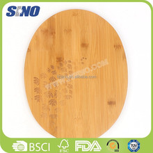 Bamboo Colour Double Side Cut And Carve Color Code Chop Board