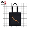 Thick canvas material fashion tote bag
