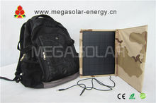 2013 hot sale 30W foldable solar panel bag for your iphone 4, ipad, cellphone, laptop-Model: MS-030FSC