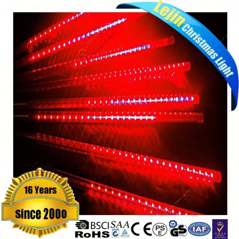 hot sale led meteor light christmas stage decorative led meteor rain light for Christmas