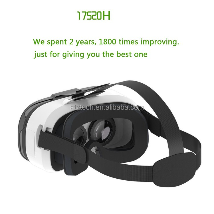 "2016 New Item 4.0-6.5"" Smartphone Virtual Real 3d Glasses"