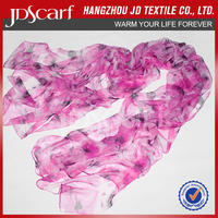 High quality new design for women wholesale italian silk scarves