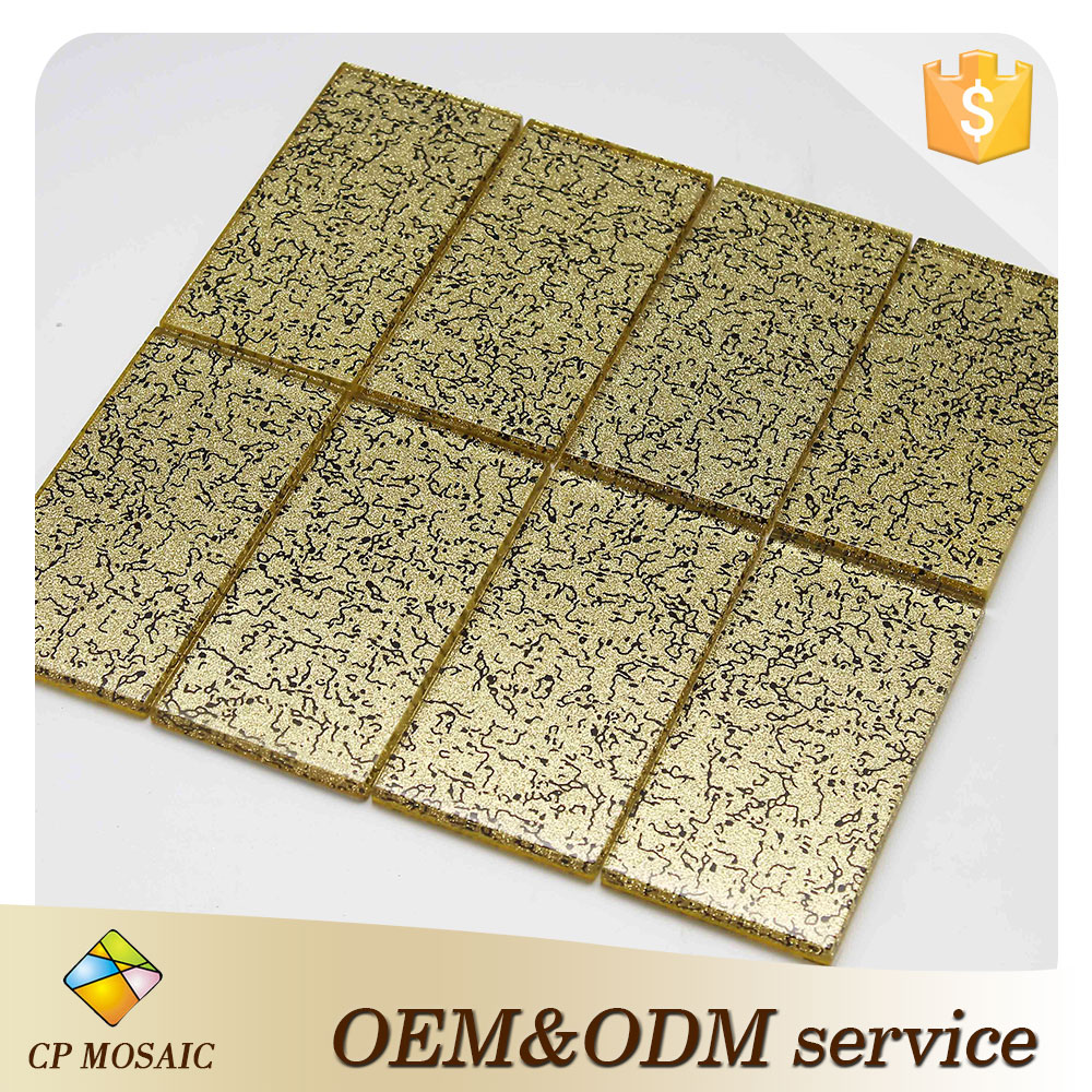 New Trend Thickness 8mm TV Background Wall Tile With Murano Mosaic Pattern