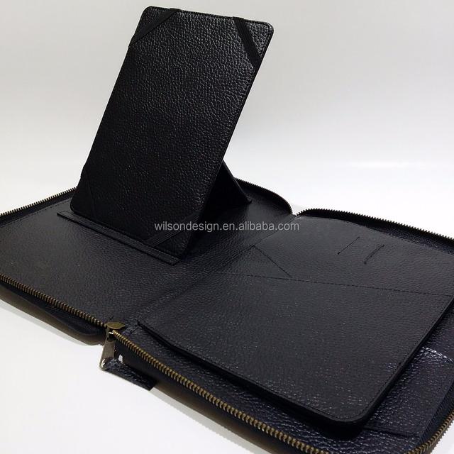 A4 soft Touch Professional Folder Calculator & Pad Withe Portfolio