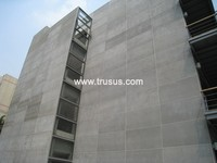 Exterior Wall Decoration Good Flexibility Fiber Cement Board