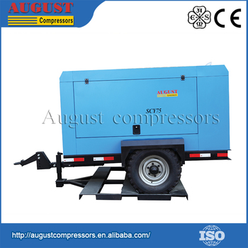 Easy For Installation And Maintenance Diesel Engine Air Compressor