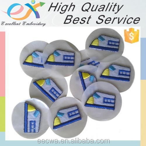 popular heat-cut self-adhesive embroidery factory