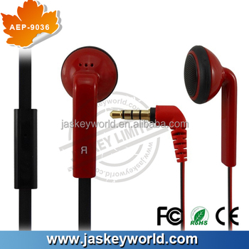AEP-9036 earphone carrying case with microphone