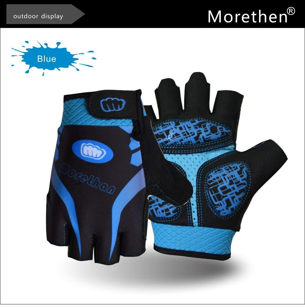 Summer Newest Silicone Gel padding Mountain&Road bike Women Half finger cycling gloves