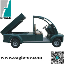 cheap electric utility vehicle, hydraulic lifted cargo bed, EG6063T