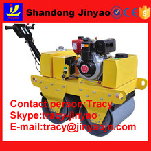 Vibratory trench roller , self-propelled vibratory road roller