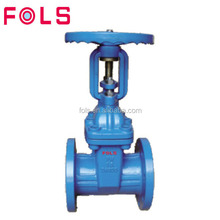 high pressure cast iron flange EPDM seated gate valve for water supply