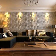 home depot supplier wave pattern decorative 3d pvc wall panel for living room