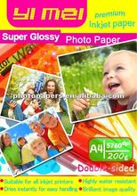 high quality Double sides Glossy inkjet photo paper