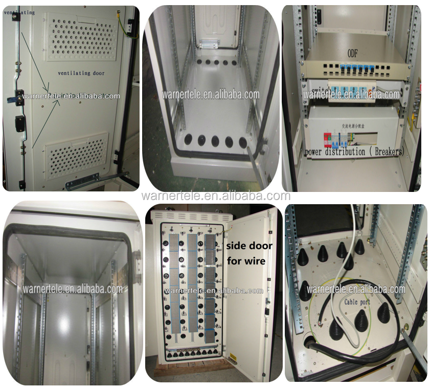 W-TEL MSAN outdoor telecom industrial equipment electric cabinet IP66