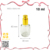 High end collection 10ml clear glass perfume pump spray bottle