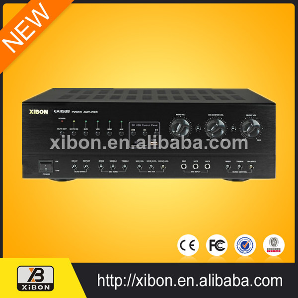 Home Theater power amplifier stereo karaoke amplifier