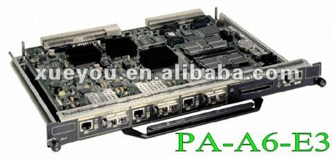 Cisco PA-A6-E3 100% brand new original Cisco 7200 series network module