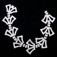 bling bling decorative rhinestone trim