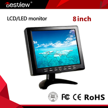 8 inch lcd screen 1080p hdmi 4 wires touch