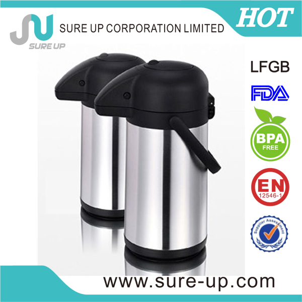 thermos air pump hot pot with thermal insulation (ASUA)