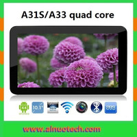 10.1 Inch Android Tablet Quad Core 16GB Google 4.4 KITKAT PC A31S A33 Bluetooth