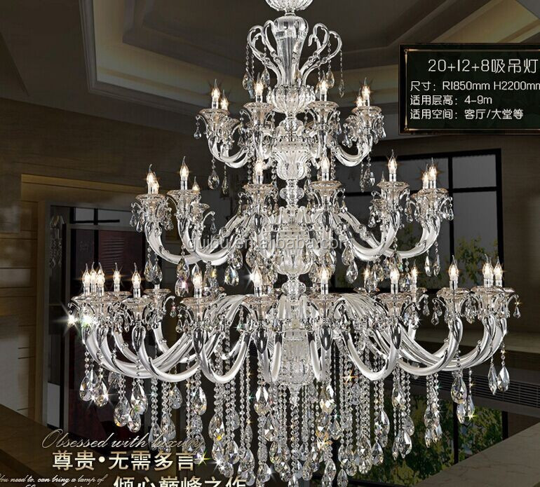 China Alibaba European Style Modern Acrylic Chandelier For Decorations