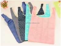 eco reusable polyester shopping carrier tote bag