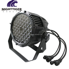 Wholesale CE ROHS ip68 waterproof outdoor dmx 54x3w rgbw led par 64 can stage light