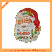 3D holiday christmas baubles wholesale sticker