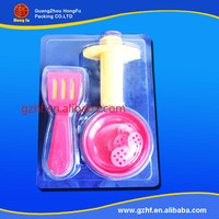 different types of plastic toy packaging