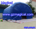 customized durable inflatable warehouse tunnel tent