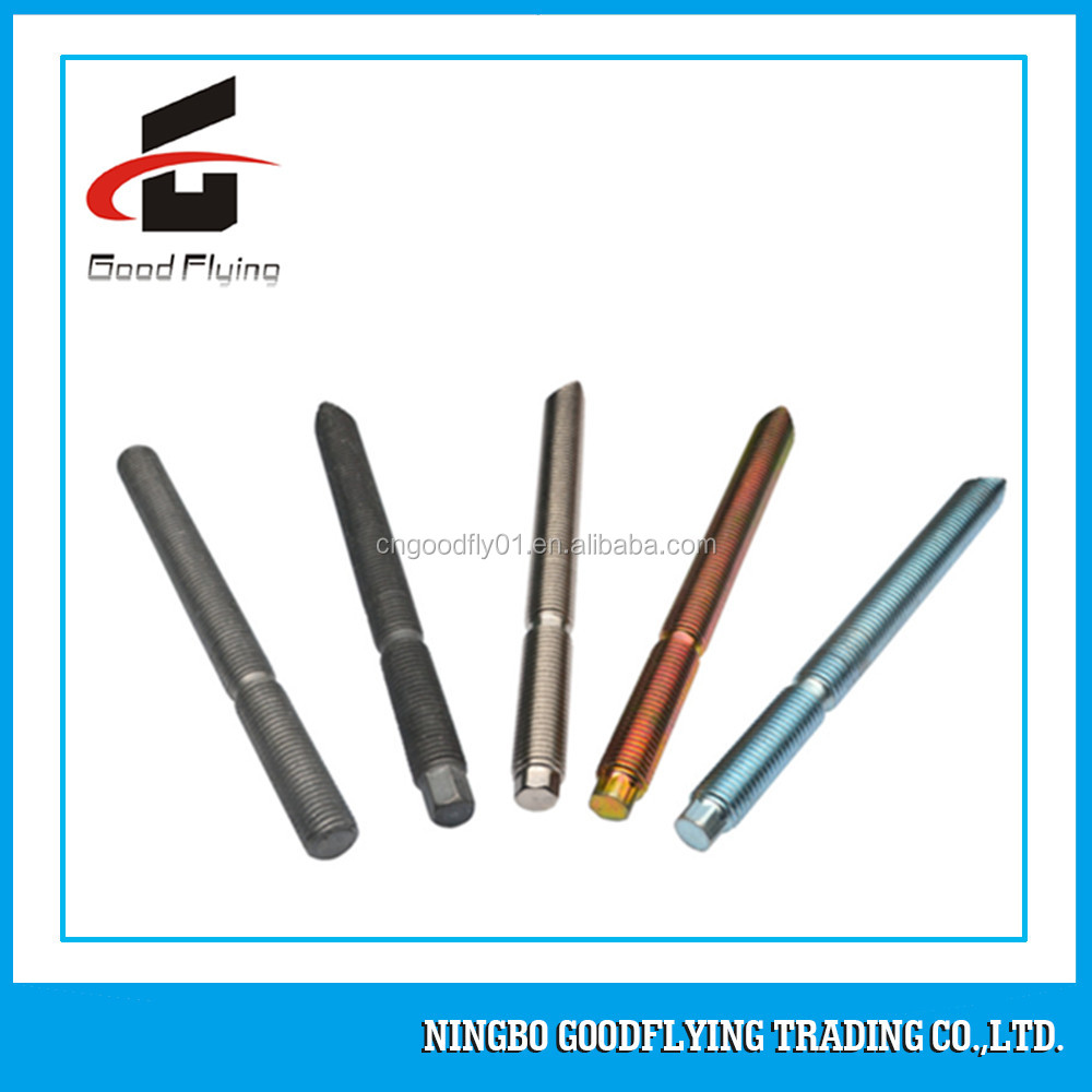 Hollow Countersunk Weld Anchor Nut Chemical Hex Color Center Titanium Bolt