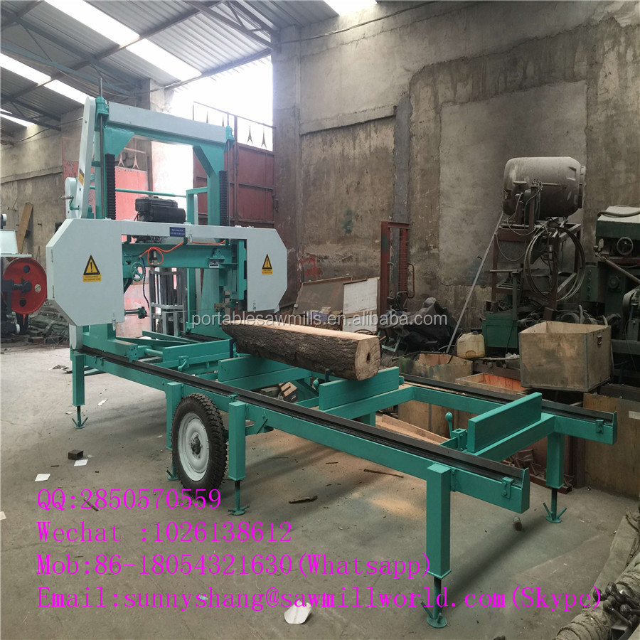 widely used portable tree band sawmill