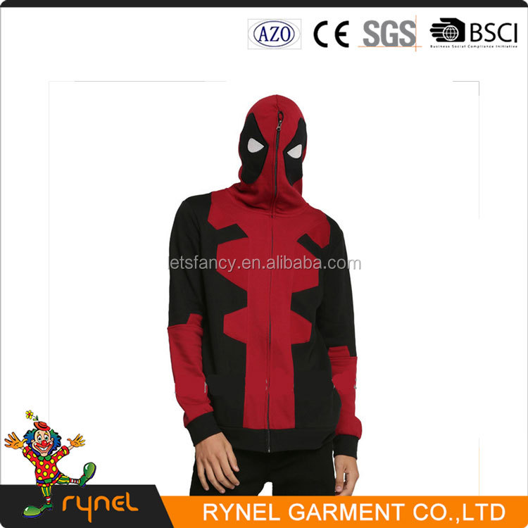 PGMC1620 Hot Selling Party Wear American Deadpool Cosplay Costumes Adult