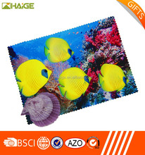 custom size Import digital logo printed microfiber screen printing cloth