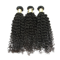 Free Shipping Virgin Human Hair 8A Curly Wave Malaysian Hair Extension