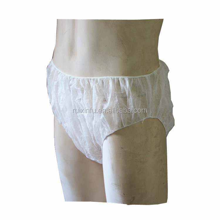 disposable non woven underwear medical examination pants for patients