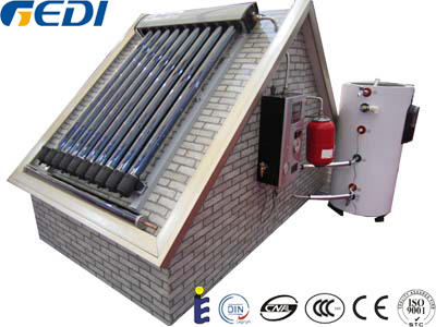 250L Solar Keymark Approoved High Efficiency Luxury Split Heat Pipe Closed Circuit Pressurized Solar Hot Water Heater