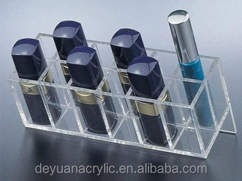 Acrylic display rack, strong plexiglass stand with handmade