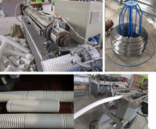 Sink drainage hose extruder toilet sink drain hose pipe production line