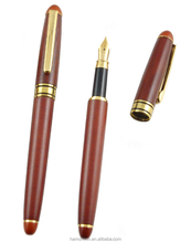 wood carved fountain OEM pen with logo