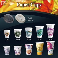 R-PP-90mm paper coffee cup lid plastic lid - 90mm PP plastic white clear lid