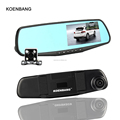 High Quality 4.3 Inch Car Dual Camera Mirror Dash Camera 360 Degree