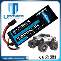 Upower 7.2v 5200mah 30C toy vehicle rc car rechargeable batteries with Universal Plug System