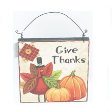 Havest happy thanksgiving design sign wall plaque decoration